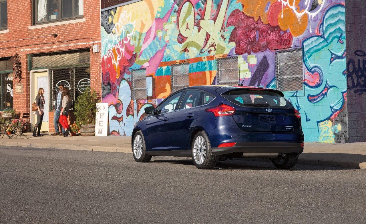Ford Focus Rear Quarter