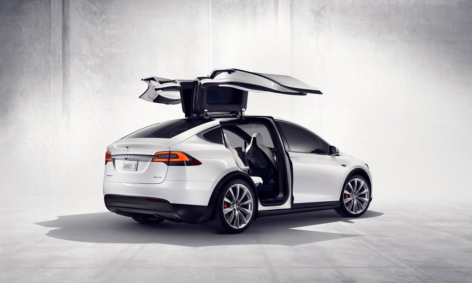 Tesla Model X Rear Quarter