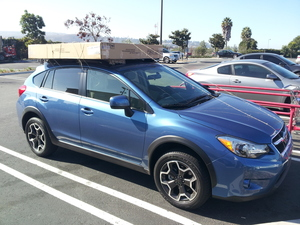 2014 subaru xv crosstrek quarter side