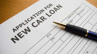 Application For New Car Loan