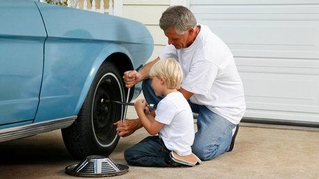 Nail In Flat Tire