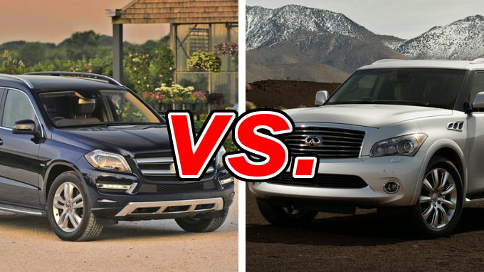 Forester Vs Outback >> Mercedes-Benz GL450 vs. Infiniti QX80 - CarsDirect