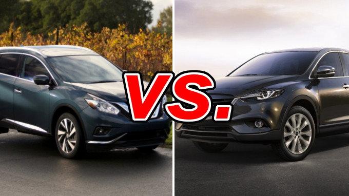 Forester Vs Outback >> Nissan Murano vs. Mazda CX-9 - CarsDirect