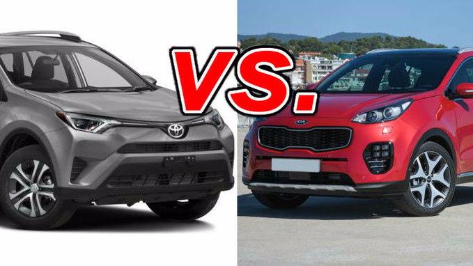 Cars For Sale Tucson >> Toyota RAV4 vs. Kia Sportage - CarsDirect
