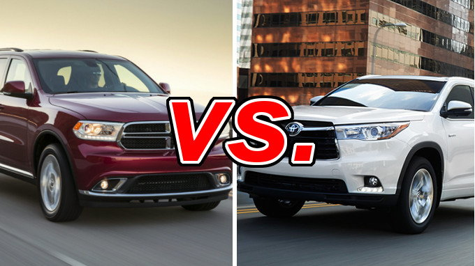 Dodge Durango vs. Toyota Highlander - CarsDirect