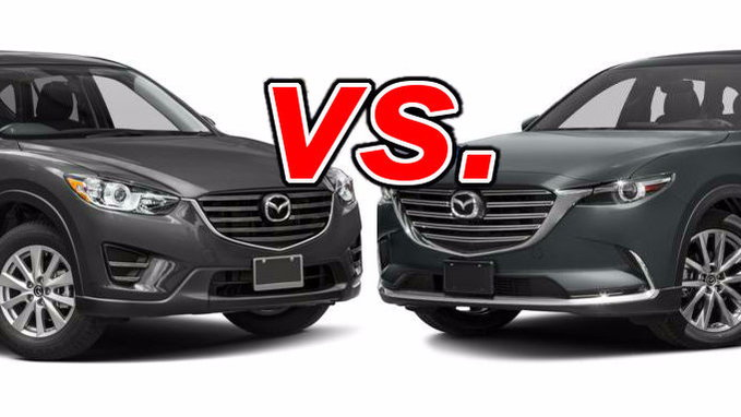 Nissan Rogue Vs Murano >> Mazda CX-5 vs. Mazda CX-9 - CarsDirect