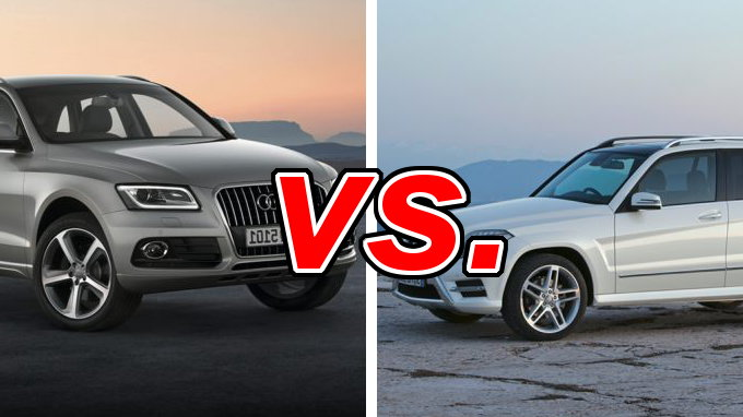 audi q5 vs mercedes benz glk350 carsdirect. Black Bedroom Furniture Sets. Home Design Ideas