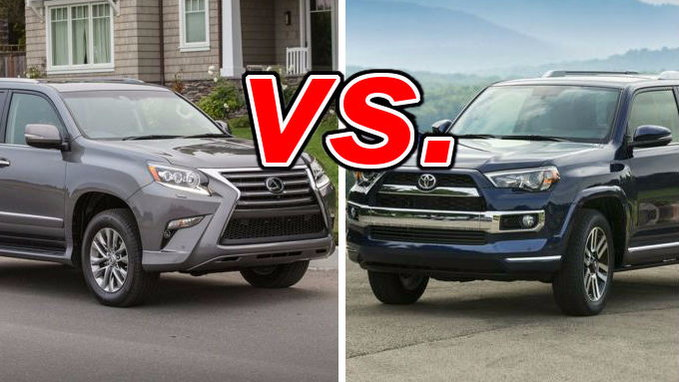 Nissan Rogue Vs Murano >> Lexus GX 460 vs. Toyota 4Runner - CarsDirect