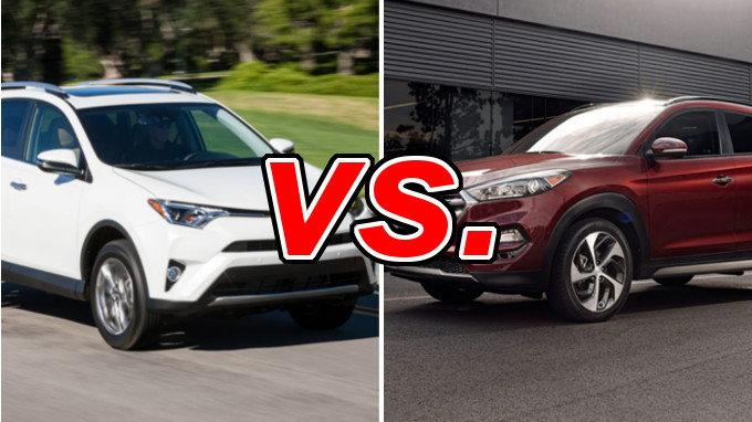 Toyota RAV4 vs. Hyundai Tucson - CarsDirect