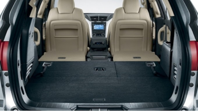 The five suvs with the most cargo space carsdirect - Small suv cargo space property ...
