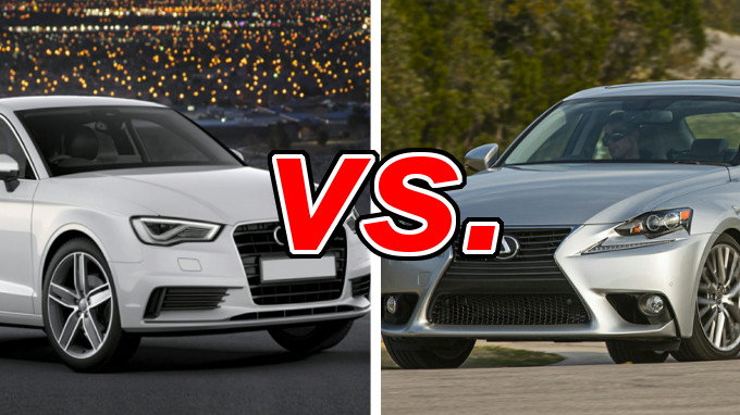 audi a3 vs lexus is 250 carsdirect. Black Bedroom Furniture Sets. Home Design Ideas