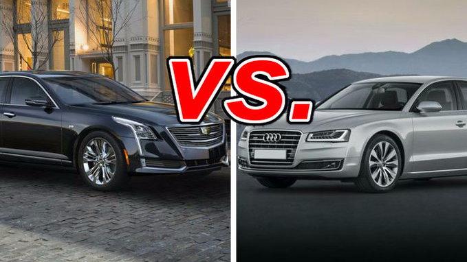 Nissan Murano Vs Rogue >> Cadillac CT6 vs. Audi A8 - CarsDirect