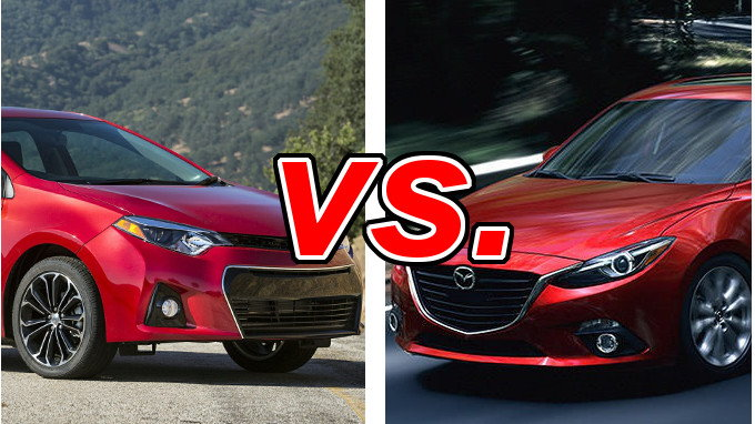 Subaru Little Rock >> Toyota Corolla vs. Mazda Mazda3 - CarsDirect