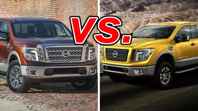 Nissan Titan vs. Nissan Titan XD - CarsDirect