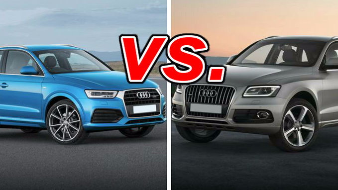 audi q3 vs audi q5 carsdirect. Black Bedroom Furniture Sets. Home Design Ideas