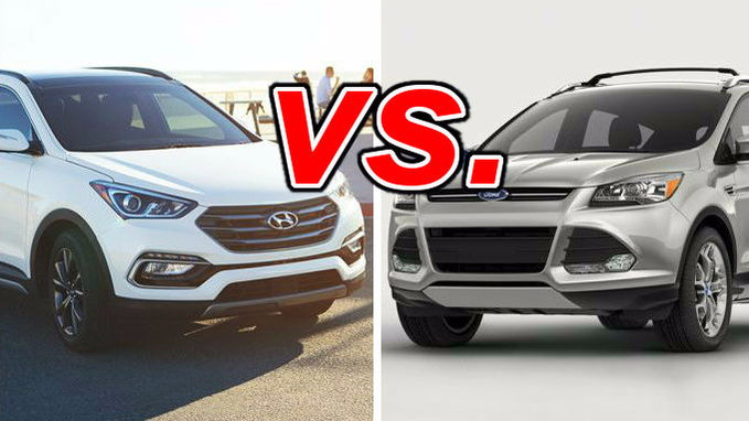 hyundai santa fe sport vs ford escape carsdirect. Black Bedroom Furniture Sets. Home Design Ideas