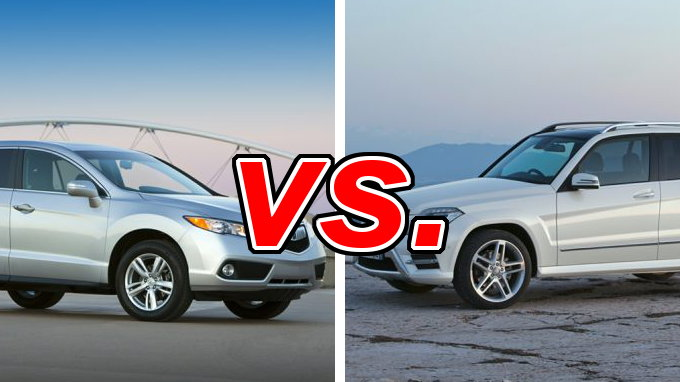 acura rdx vs mercedes benz glk350 carsdirect. Black Bedroom Furniture Sets. Home Design Ideas
