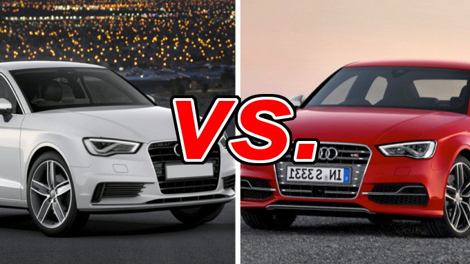 Build Your Own Subaru >> Audi A3 vs. Audi S3 - CarsDirect