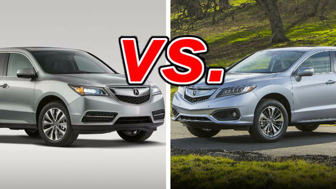 acura rdx vs acura mdx carsdirect. Black Bedroom Furniture Sets. Home Design Ideas