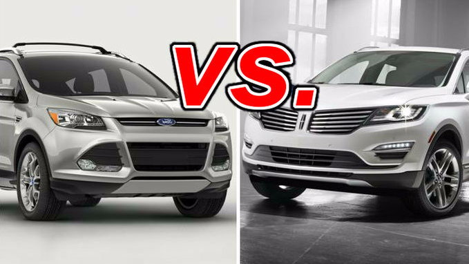 ford escape vs lincoln mkc carsdirect. Black Bedroom Furniture Sets. Home Design Ideas