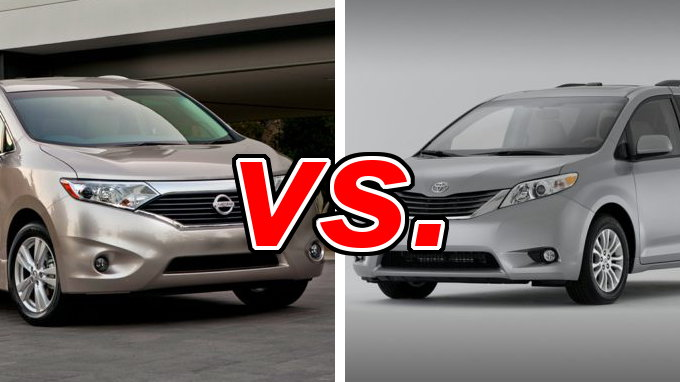 Nissan Quest Vs Toyota Sienna Carsdirect