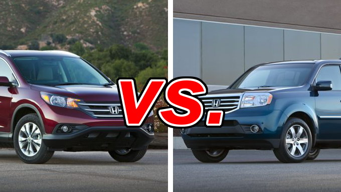 honda cr v vs honda pilot carsdirect. Black Bedroom Furniture Sets. Home Design Ideas