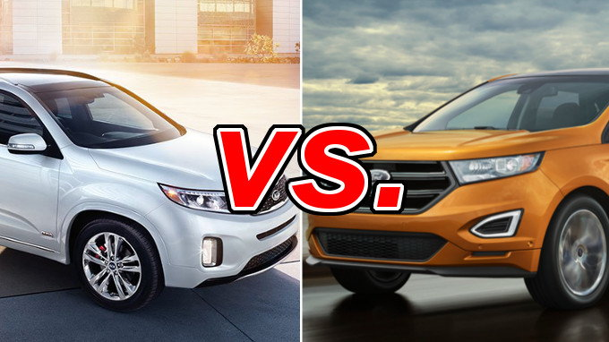 Kia Sorento Vs Ford Edge Carsdirect