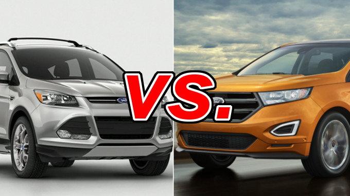 ford escape vs ford edge   carsdirect