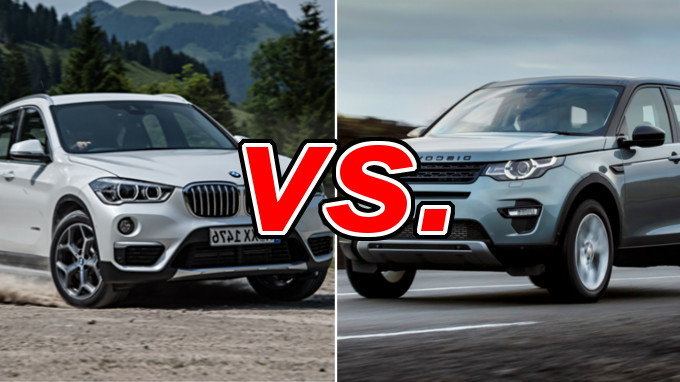 bmw x1 vs land rover discovery sport carsdirect. Black Bedroom Furniture Sets. Home Design Ideas