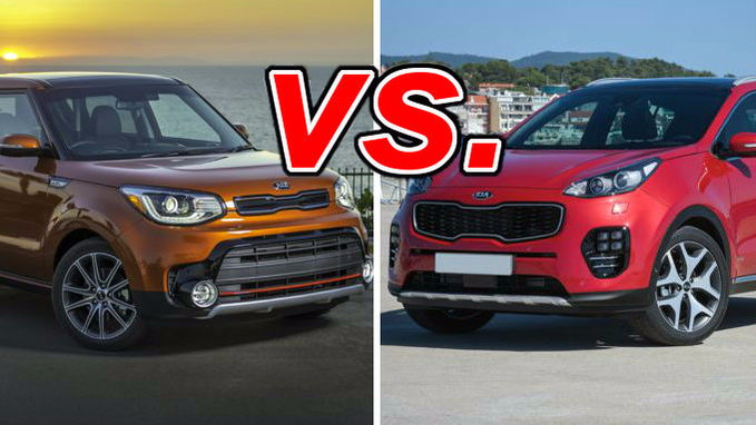 Build Your Own Subaru >> Kia Soul vs. Kia Sportage - CarsDirect