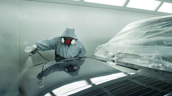 professional car paint which type of paint do the pros