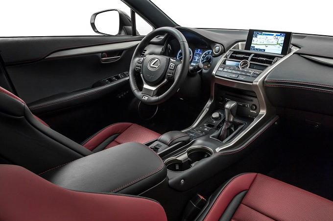 2015 Lexus NX 200t Interior