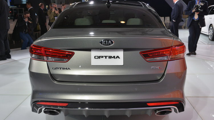 2016 kia optima overview pricing and release date. Black Bedroom Furniture Sets. Home Design Ideas