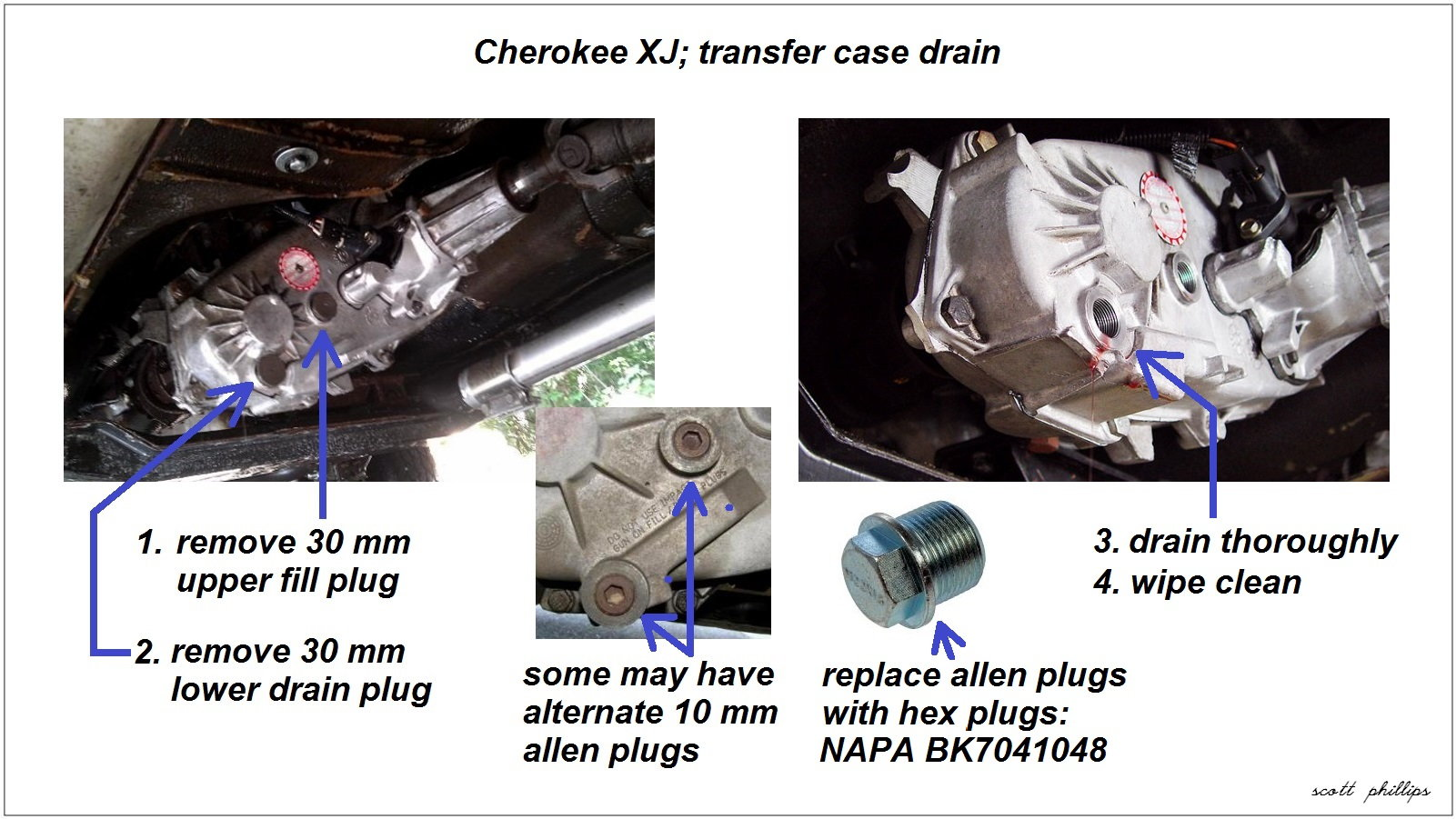 Jeep Cherokee Xj 1984 To 2001 How To Replace Transfer Case
