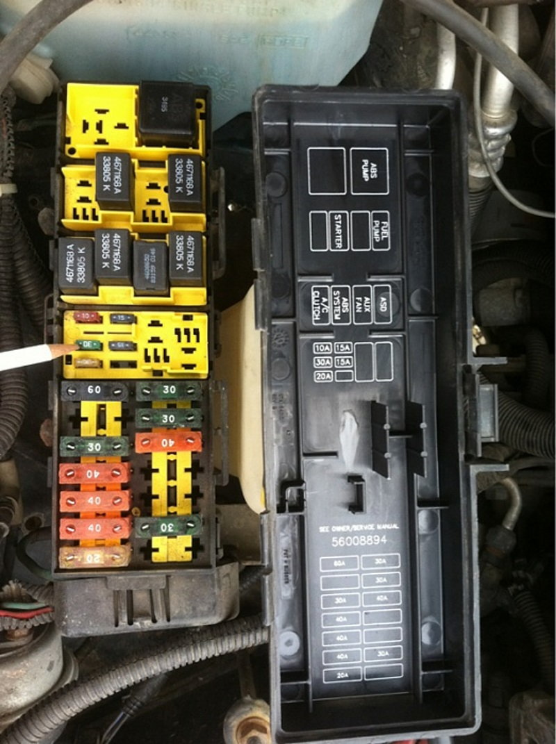 Jeep    Grand Cherokee ZJ WJ 1993 to 2004 Why is Battery