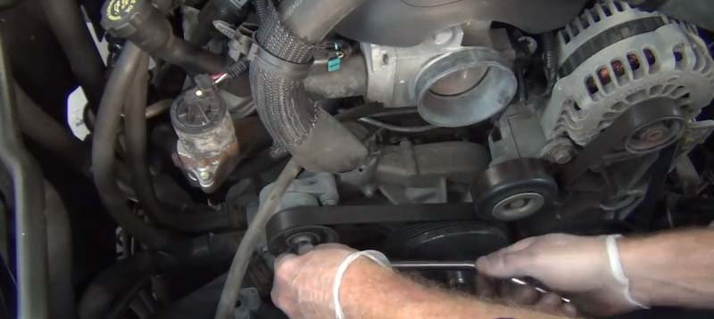 Chevrolet Silverado 1999-2006 Gmt800 How To Replace Power Steering Pump