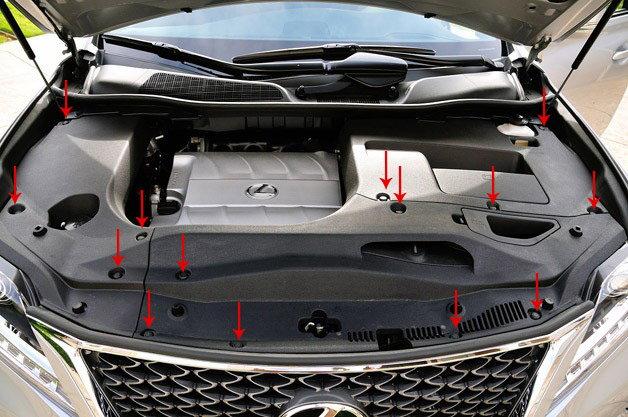 Lexus Es 350 Engine Diagram