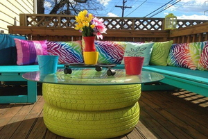 10 Outdoor Furniture and Fixtures You Can (and Should) DIY