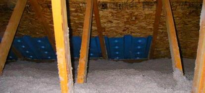 Installing Attic Insulation Baffles Doityourself Com
