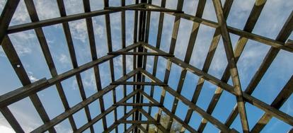 Building A Garage 6 Roof Framing