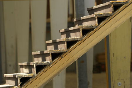 How to build basement stairs part 1 for How to build a basement