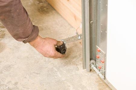 garage door opener safety sensor installation 1