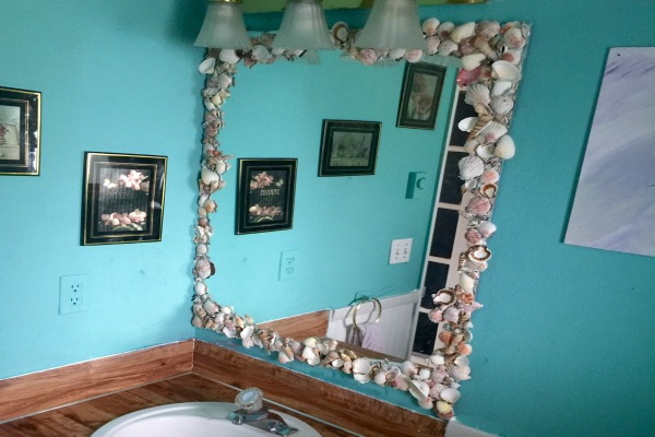 Do it yourself mirror frame