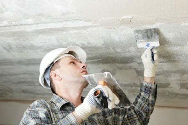 Applying Plaster to Ceilings DoItYourselfcom