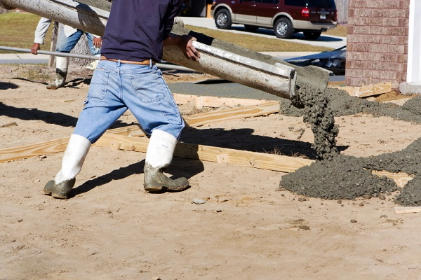 Pouring a concrete driveway part 1 for How to pour a concrete driveway