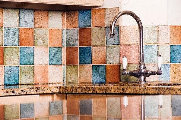 Hottest tile trends to transform your bathroom or kitchen - Colorful kitchen backsplashes ...