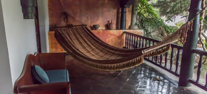 3. Indulge Your Lazy Side With a Hammock