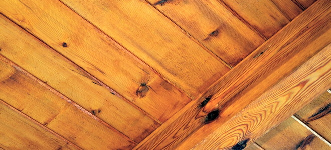 Removing Oil Based Stains From Wood Ceiling Beams