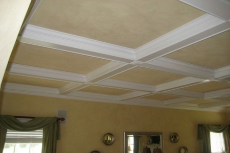 How To Construct Coffered Ceilings Doityourself Com