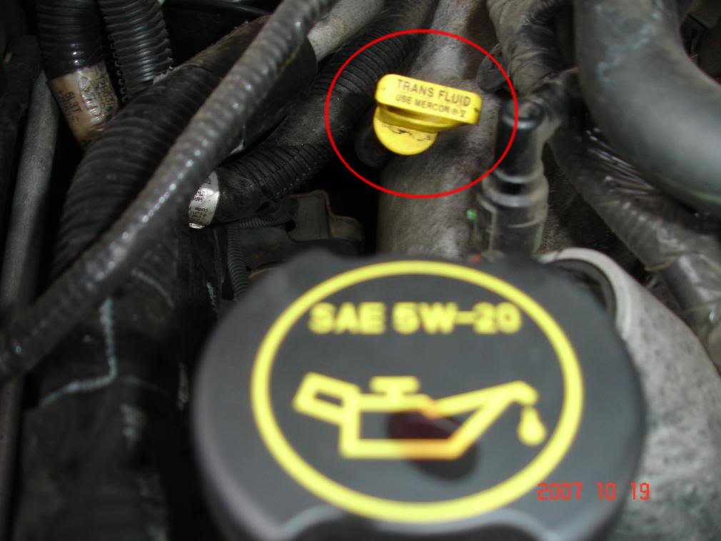 97 ford taurus oil filter location